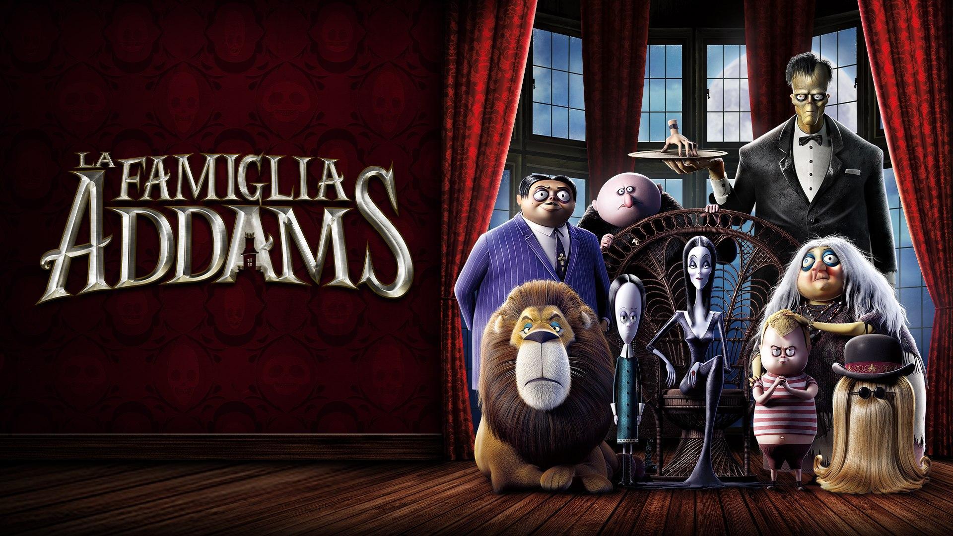 Sabato 24 Ottobre 2020 Sky Cinema HD, La Famiglia Addams