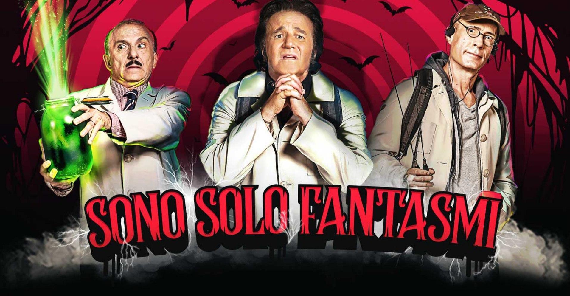 Lunedi 26 Ottobre 2020 Sky Cinema HD, Sono solo fantasmi