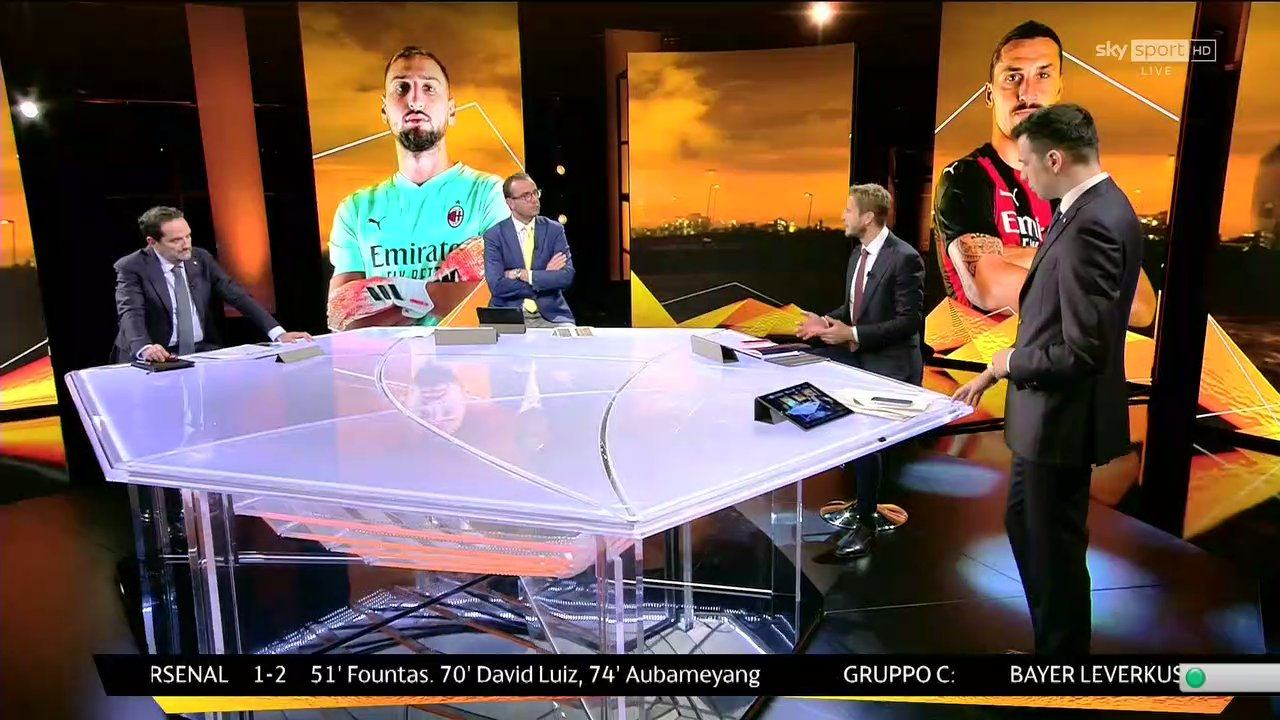 Sky Sport Diretta Europa League #2, Palinsesto Telecronisti Napoli, Roma, Milan
