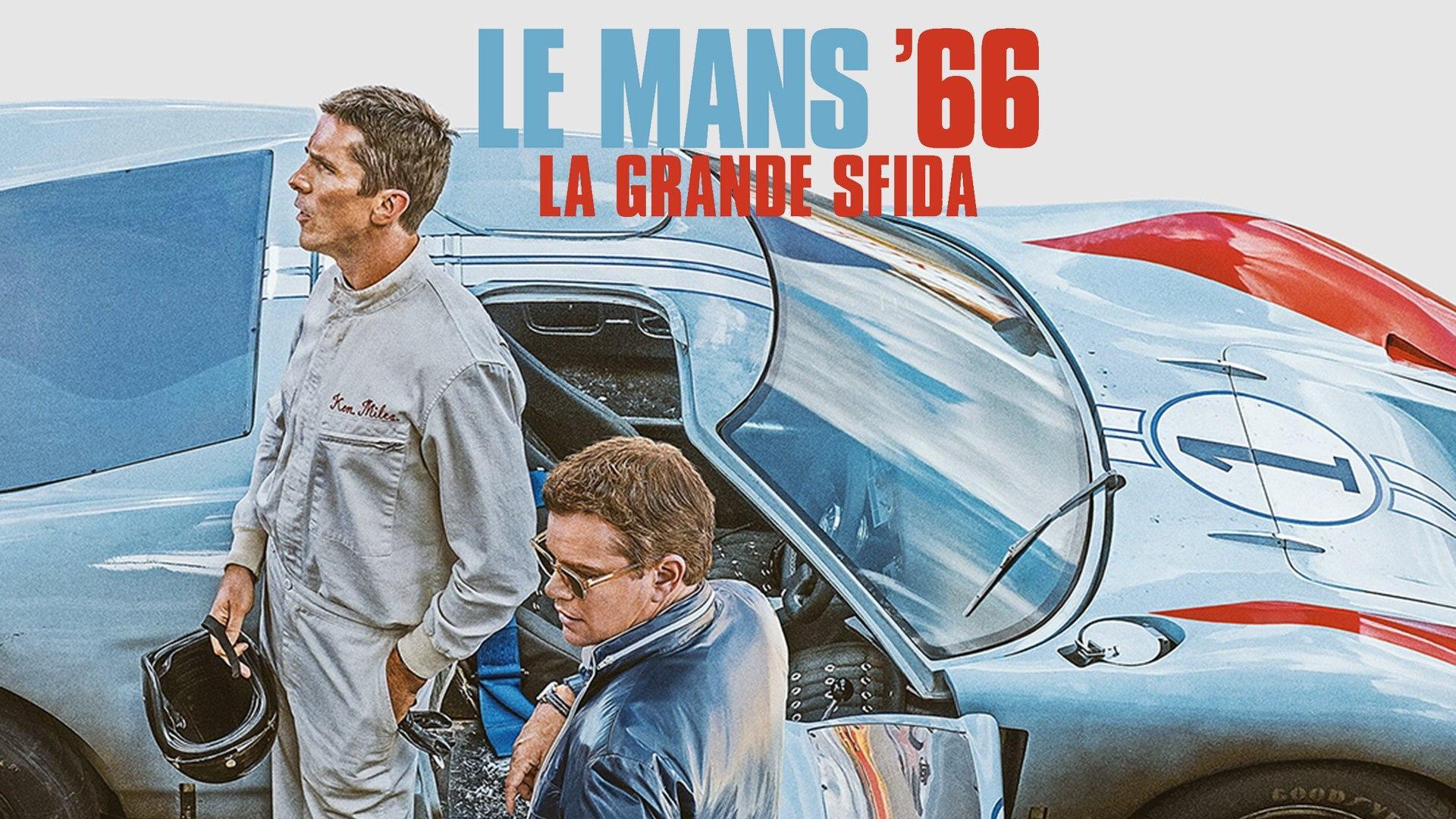 Lunedi 2 Novembre 2020 Sky Cinema HD, Le Mans 66 - La grande sfida
