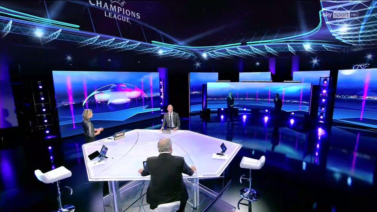 Sky Sport, Diretta Champions #3 Palinsesto Telecronisti Juventus, Inter, Atalanta, Lazio