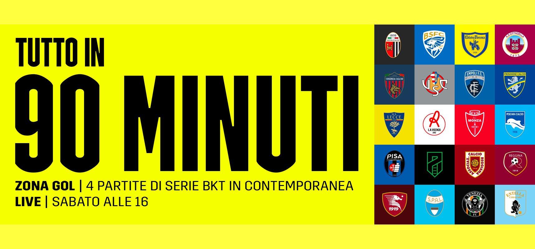 Serie B DAZN 7a Giornata - Diretta Esclusiva   Palinsesto e Telecronisti