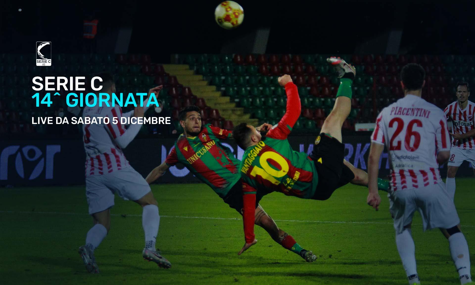 Serie C Eleven Sports, 14a Giornata - Programma e Telecronisti Lega Pro