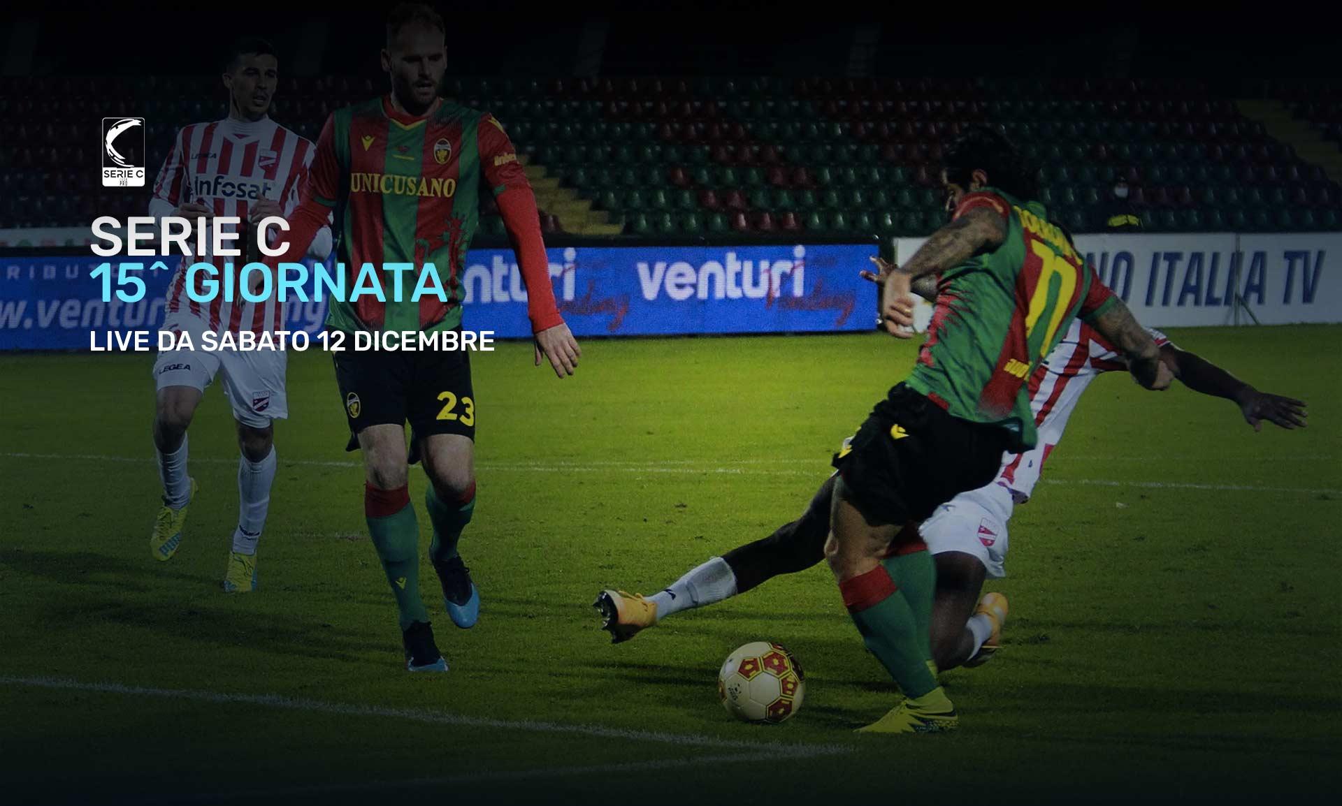 Serie C Eleven Sports, 15a Giornata - Programma e Telecronisti Lega Pro