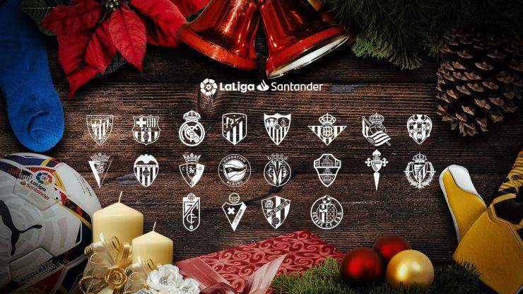 Calcio Estero DAZN, 16a Giornata La Liga Spagnola (29 - 31 Dicembre)