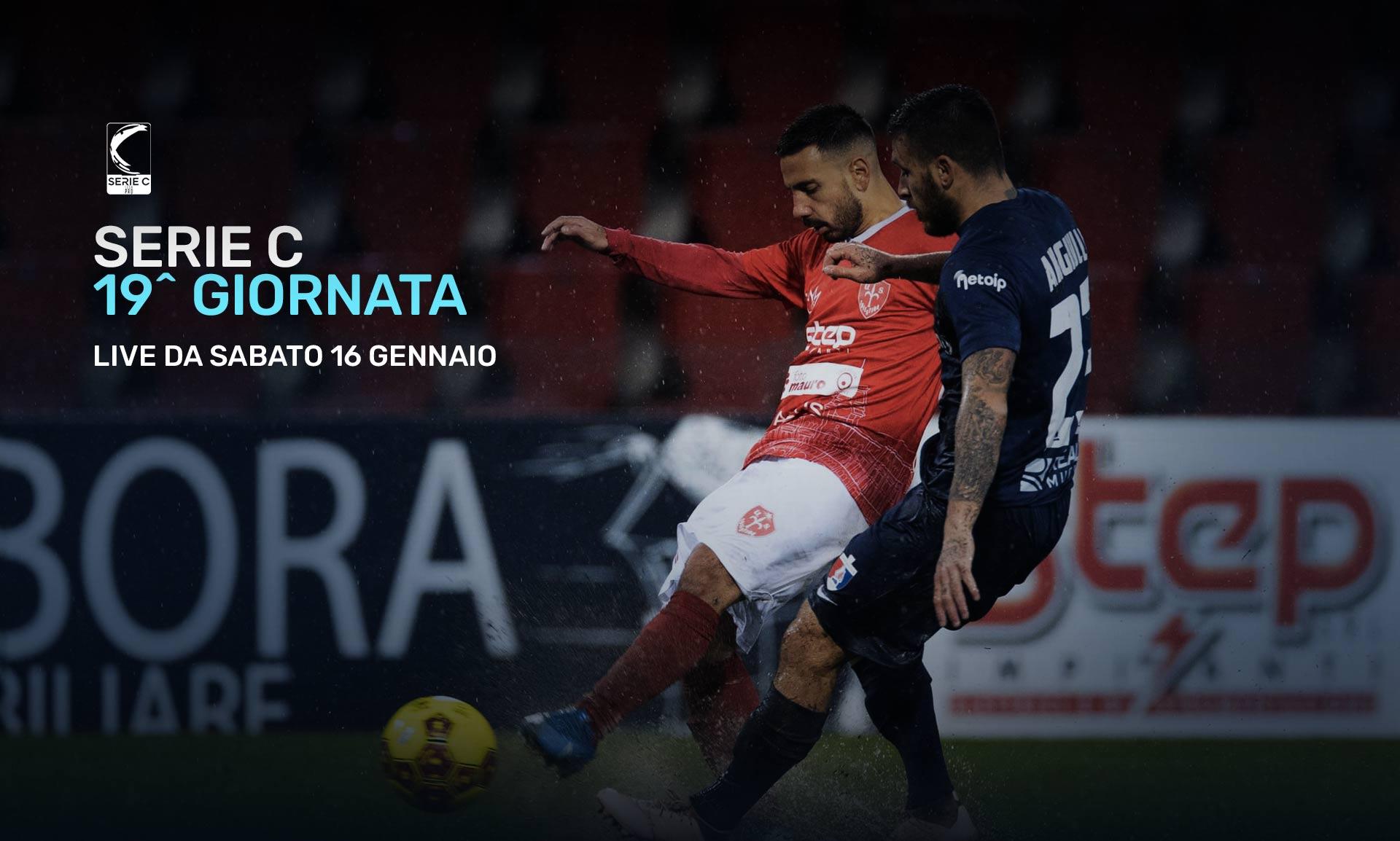 Serie C Eleven Sports, 19a Giornata - Programma e Telecronisti Lega Pro