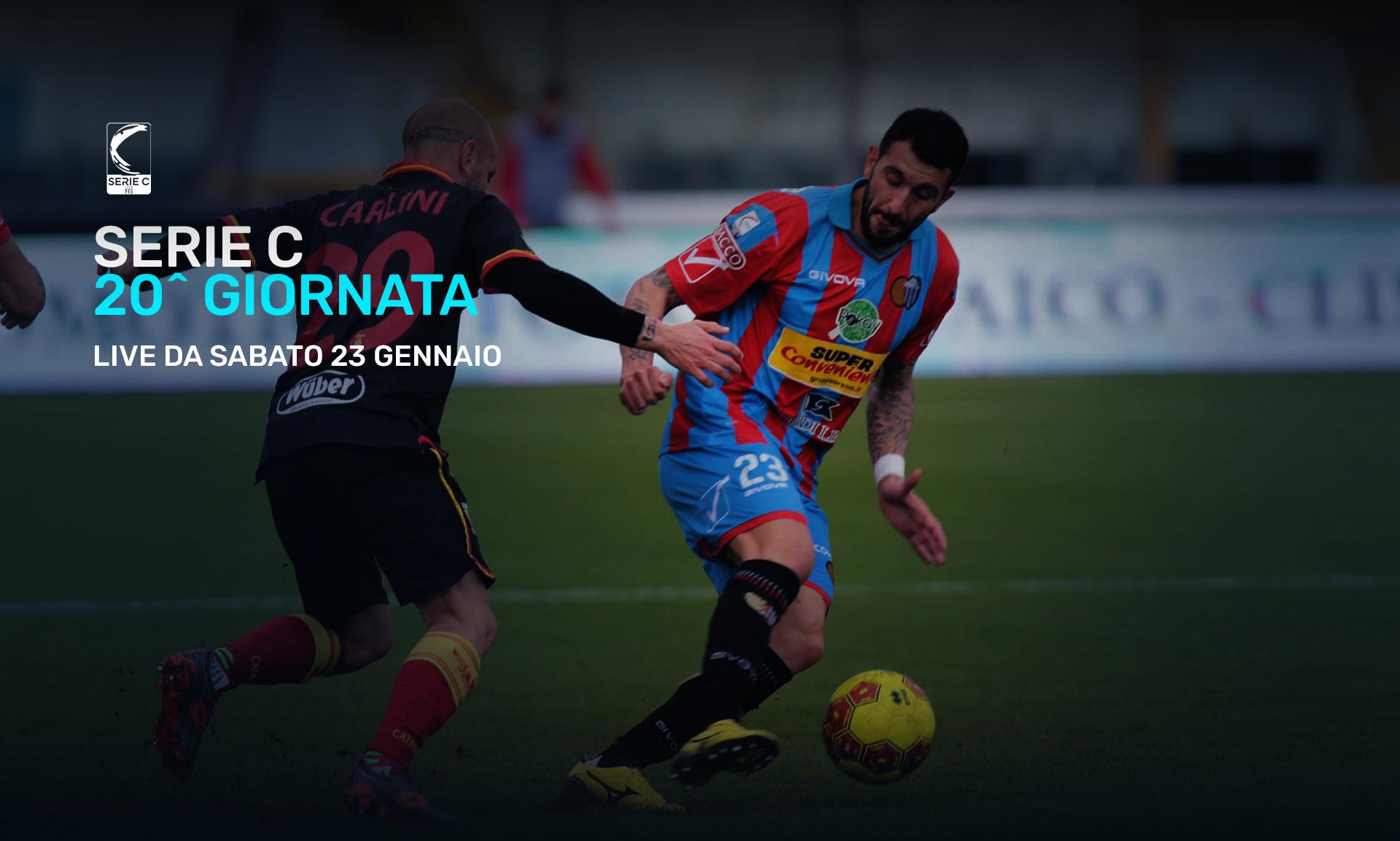 Serie C Eleven Sports, 20a Giornata - Programma e Telecronisti Lega Pro