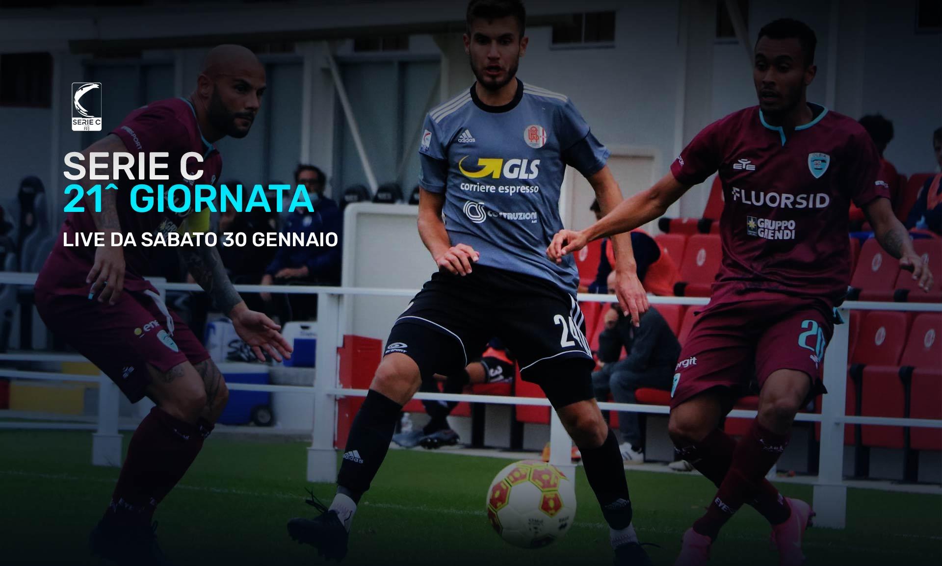 Serie C Eleven Sports, 21a Giornata - Programma e Telecronisti Lega Pro