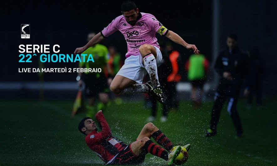 Serie C Eleven Sports, 22a Giornata - Programma e Telecronisti Lega Pro