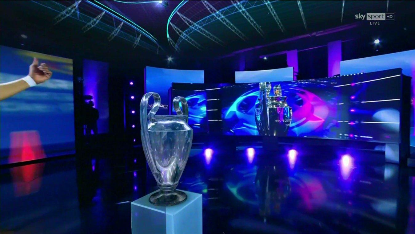 Sky Sport Diretta Champions Ottavi Andata #2, Palinsesto e Telecronisti
