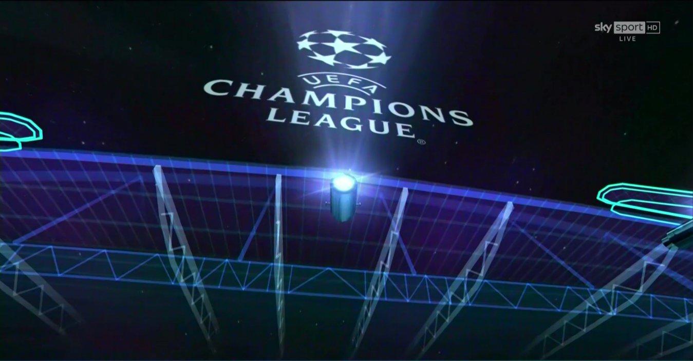 Sky Sport Diretta Champions Ottavi Ritorno #1, Palinsesto e Telecronisti