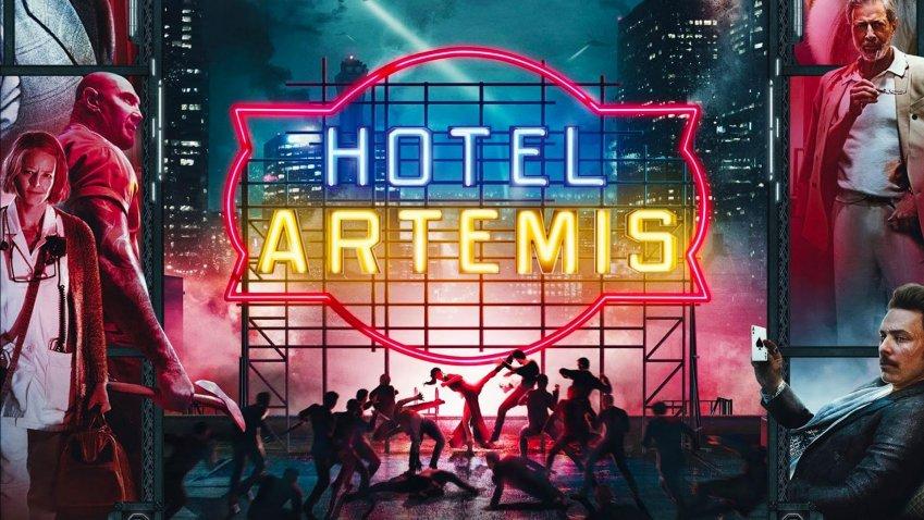 Giovedi 11 Marzo 2021 Sky e Premium Cinema, Hotel Artemis