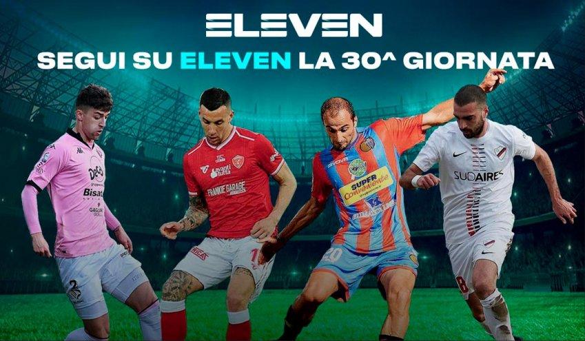 Serie C Eleven Sports, 30a Giornata - Programma e Telecronisti Lega Pro