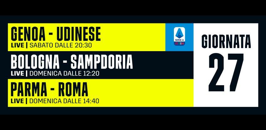 DAZN Serie A 27a Giornata, Diretta Esclusiva | Palinsesto Telecronisti (Sky 209)