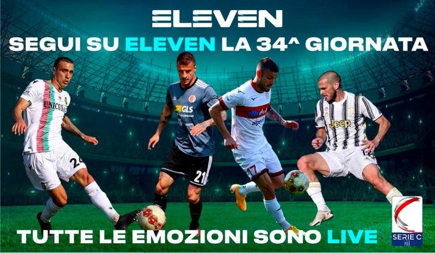 Serie C Eleven Sports, 34a Giornata - Programma e Telecronisti Lega Pro