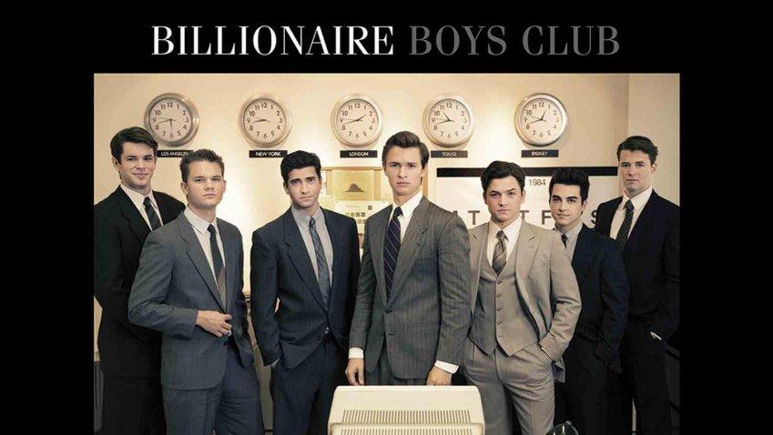 Domenica 25 Aprile 2021 Sky e Premium Cinema, Billionaire Boys Club