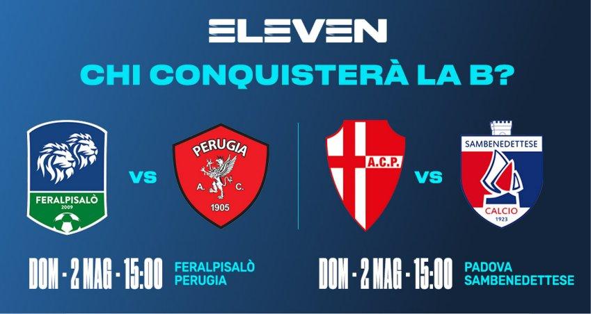Serie C Eleven Sports, 38a Giornata - Programma e Telecronisti Lega Pro
