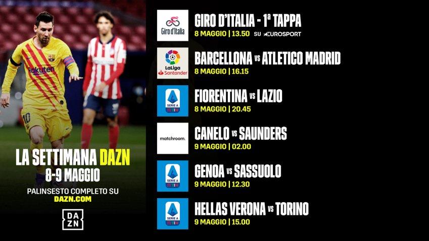 DAZN Serie A 35a Giornata, Diretta Esclusiva | Palinsesto Telecronisti (Sky 209)