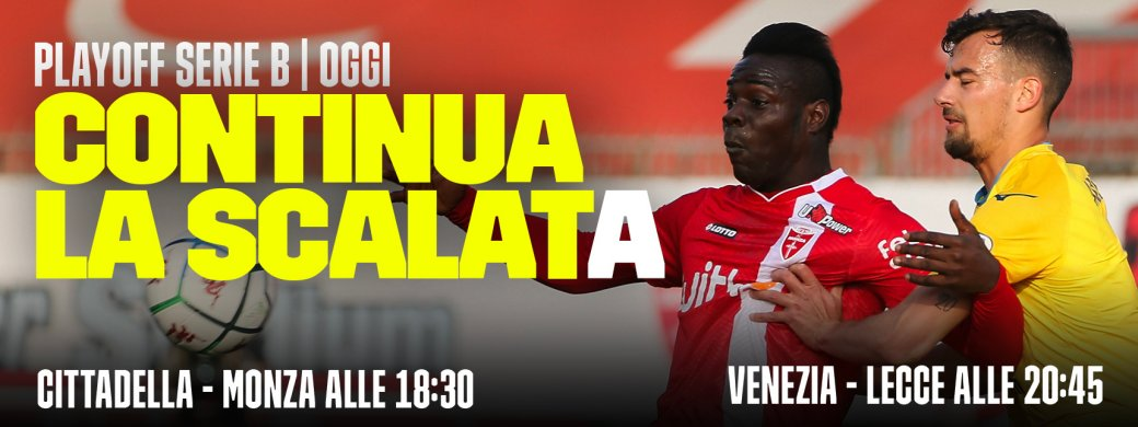 Serie B DAZN Semifinali Andata Playoff - Diretta Esclusiva | Palinsesto e Telecronisti