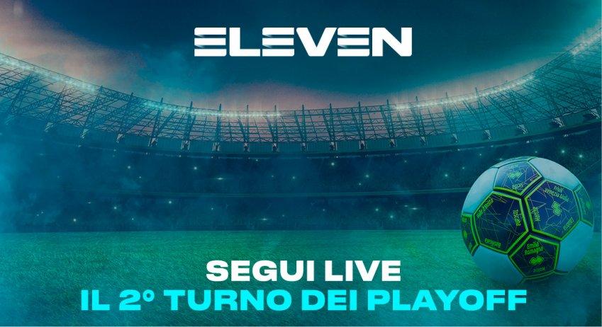 Serie C Eleven Sports, Playoff Girone 2 Turno  - Programma e Telecronisti Lega Pro