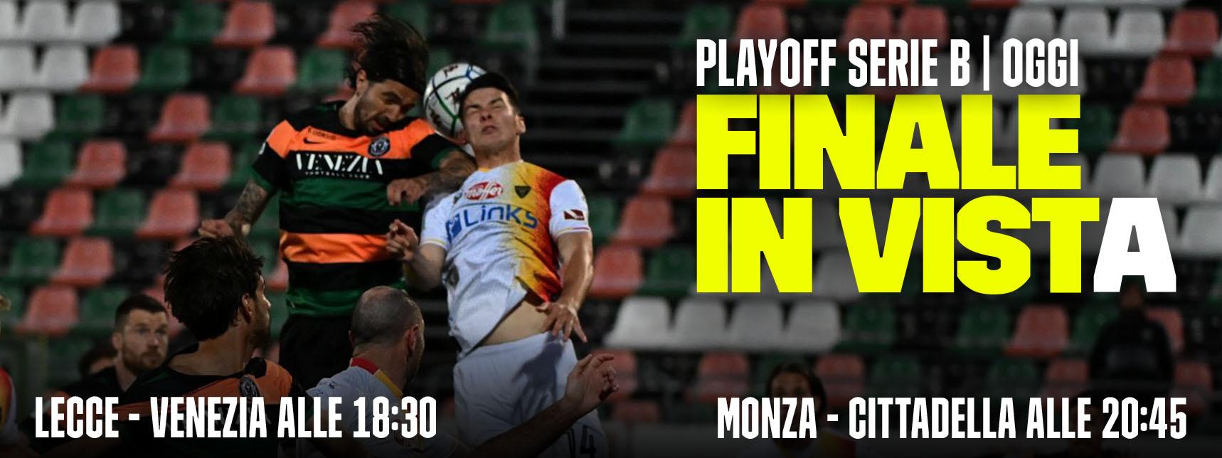 Serie B DAZN Semifinali Ritorno Playoff - Diretta Esclusiva | Palinsesto e Telecronisti