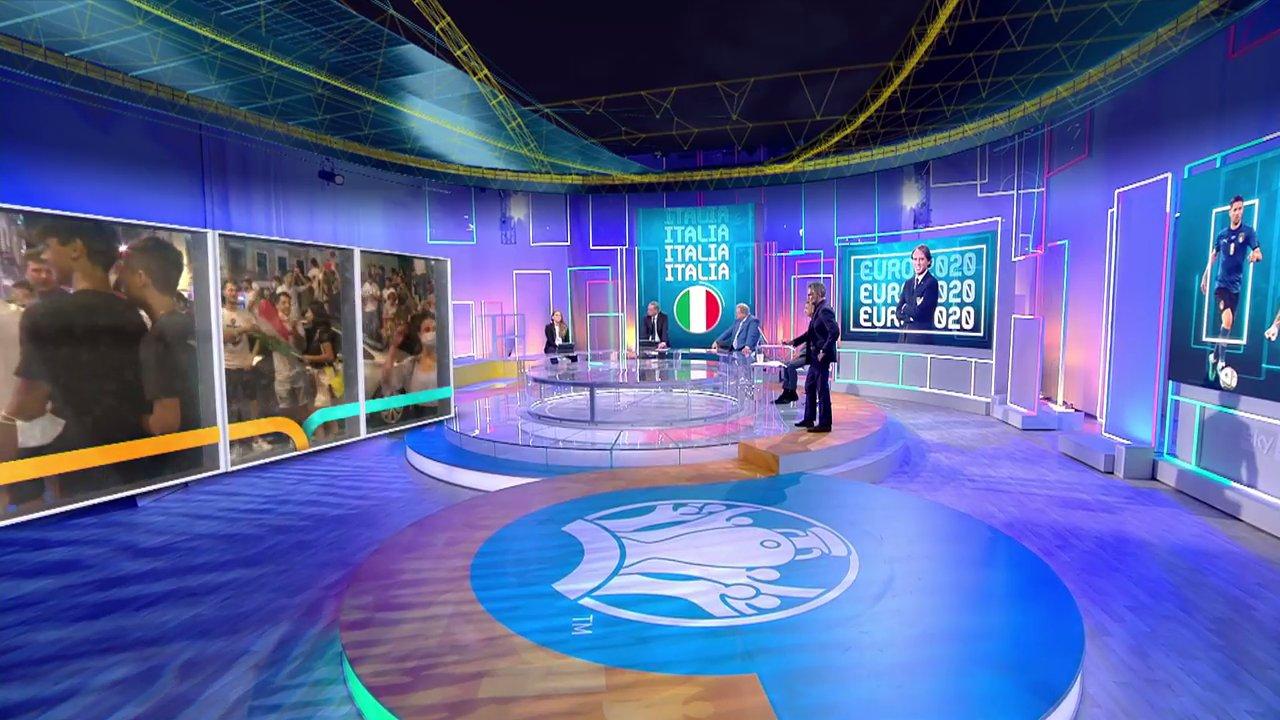 Sky Sport, Partite e Telecronisti #SkyEuro2020 del 7 Luglio