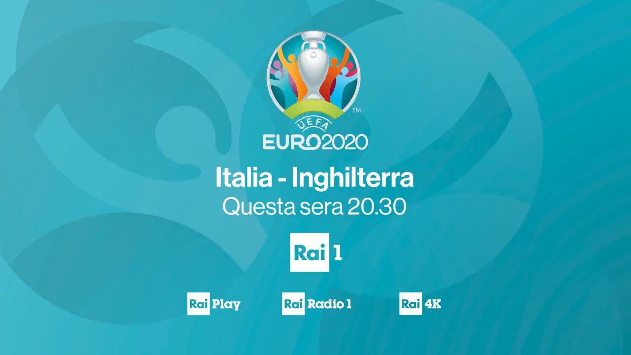 Domenica Rai Sport, 11 Luglio 2021 | diretta Finale Euro 2020 ITALIA - Inghilterra