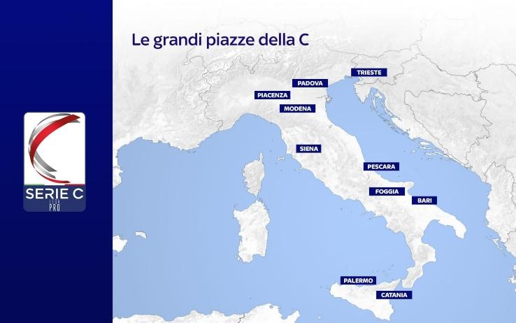 Serie C Sky Sport, 1a Giornata - Programma e Telecronisti Lega Pro