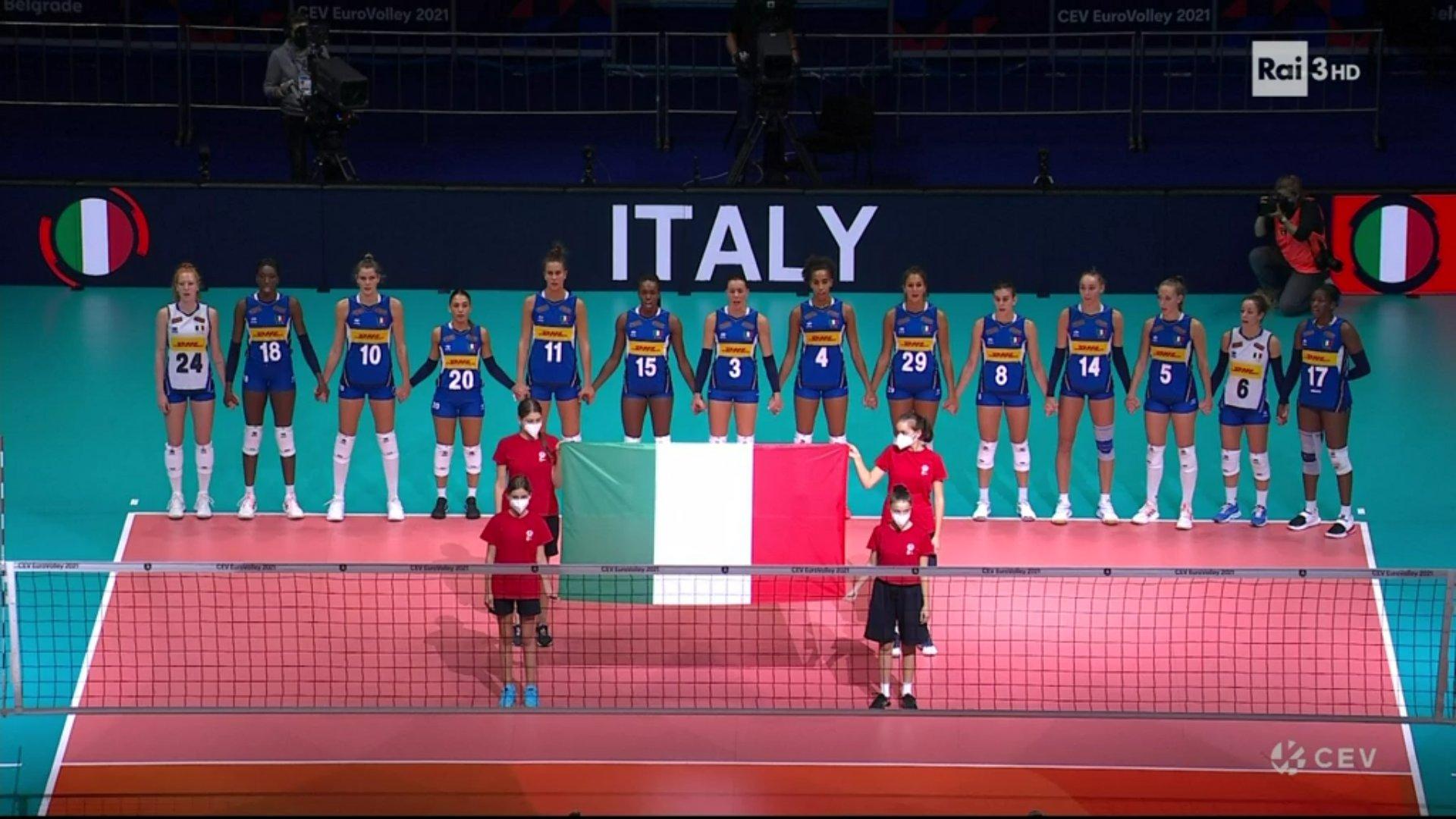 Sabato Rai Sport, 4 Settembre 2021 | diretta Paraolimpiadi Tokyo 2020, Finale Europei Volley Femminile