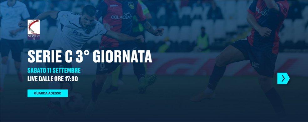Lega Pro Eleven Sports, 3a Giornata - Programma e Telecronisti Serie C