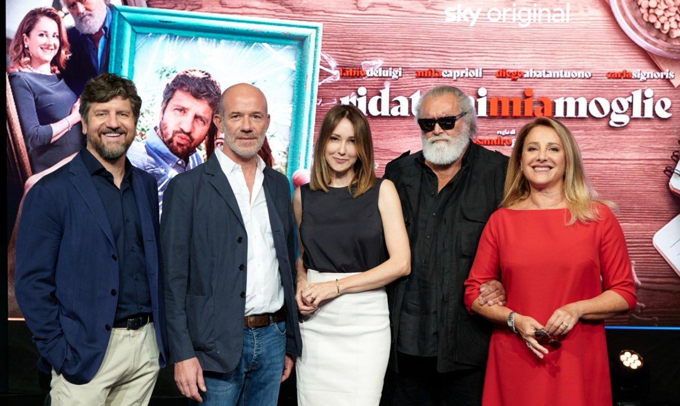 Lunedi 13 Settembre 2021 Sky e Premium Cinema, Ridatemi Mia Moglie