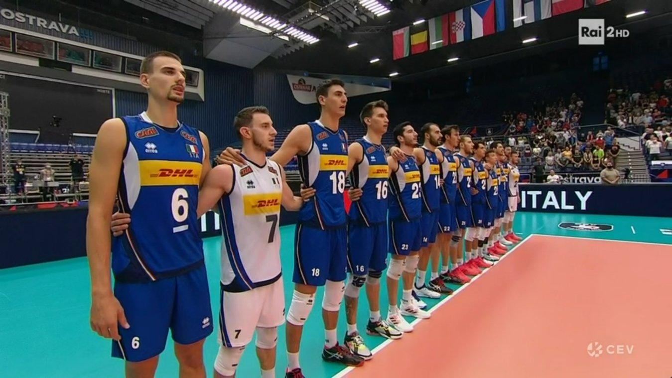 Sabato Rai Sport, 18 Settembre 2021   diretta Pallavolo Europei Semifinale Serbia - ITALIA