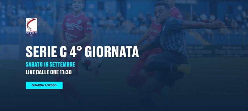 Lega Pro Eleven Sports, 4a Giornata - Programma e Telecronisti Serie C