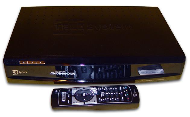 TELESystem, aggiornamento 02-3028 per ricevitori POD TS7500HD, TS7510HD, TS7520HD
