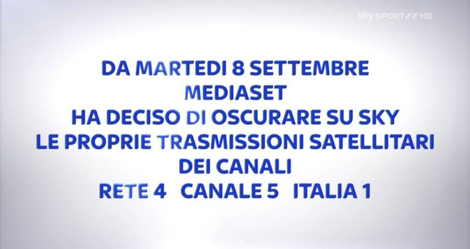 La controreplica di Mediaset: