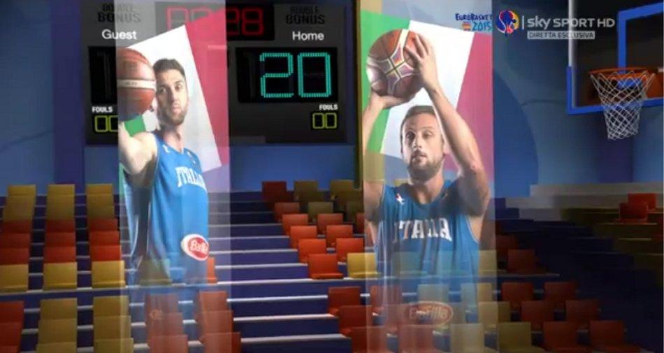 Sky Sport HD la casa della Nazionale di Basket, 15 tornei acquistati nei prossimi 5 anni