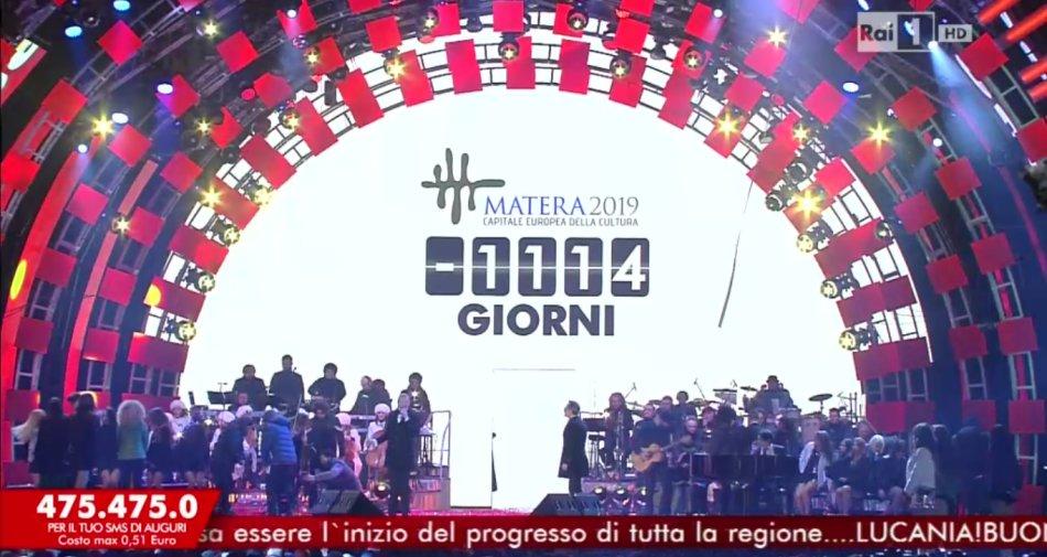 Show Capodanno Rai in Basilicata fino al 2019. Accordo Rai Com-Regione, verso Matera 2019