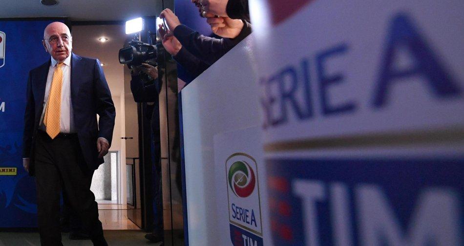 Galliani: «Club Serie A non possono spartirsi soldi dei fondi da soli»