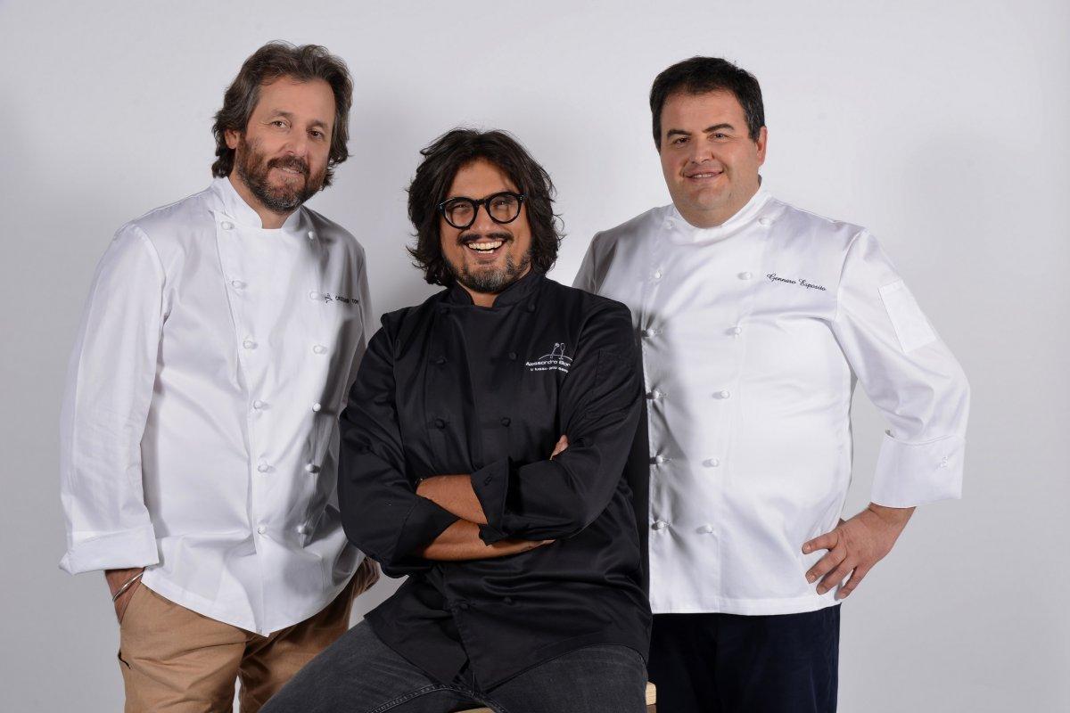 TV8 - Borghese, Esposito e Tomei alla scoperta della cucina regionale italiana
