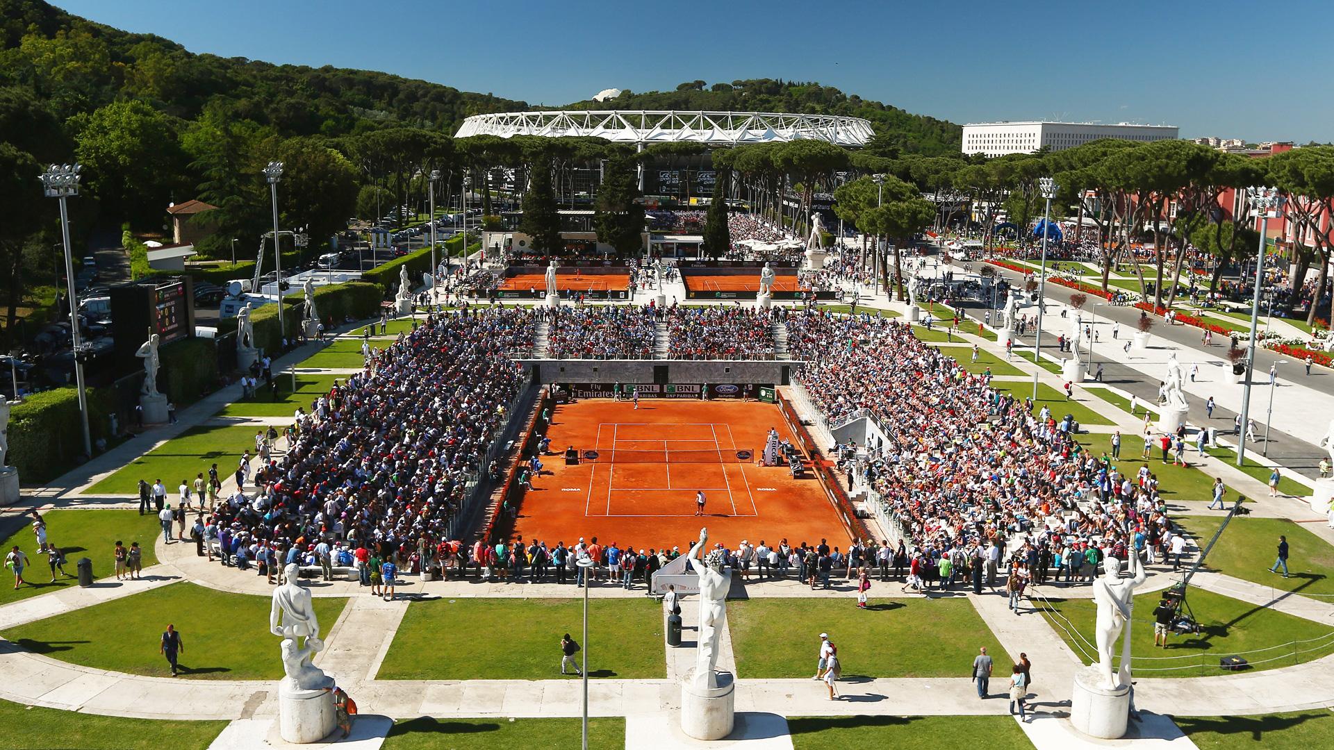 Sky Sport, Internazionali Italia Tennis Roma 2020 (fase finale in chiaro su CIELO)