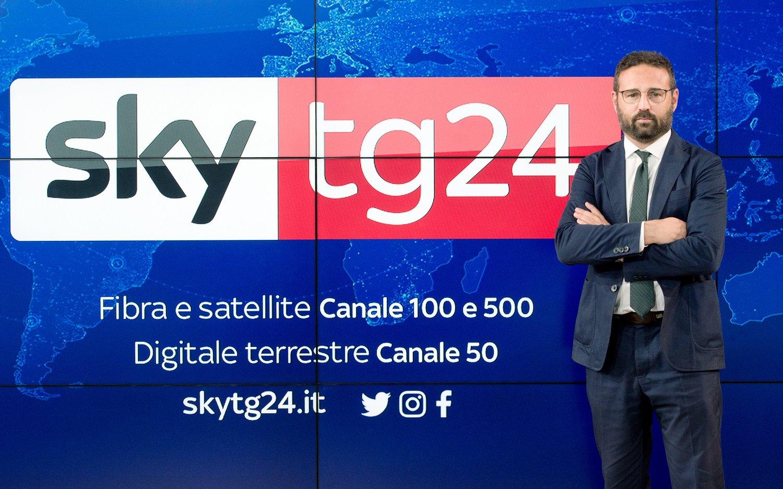 Sky Upfront 2020, Back to Next - Sky TG24, il racconto delle più importanti notizie mondiali