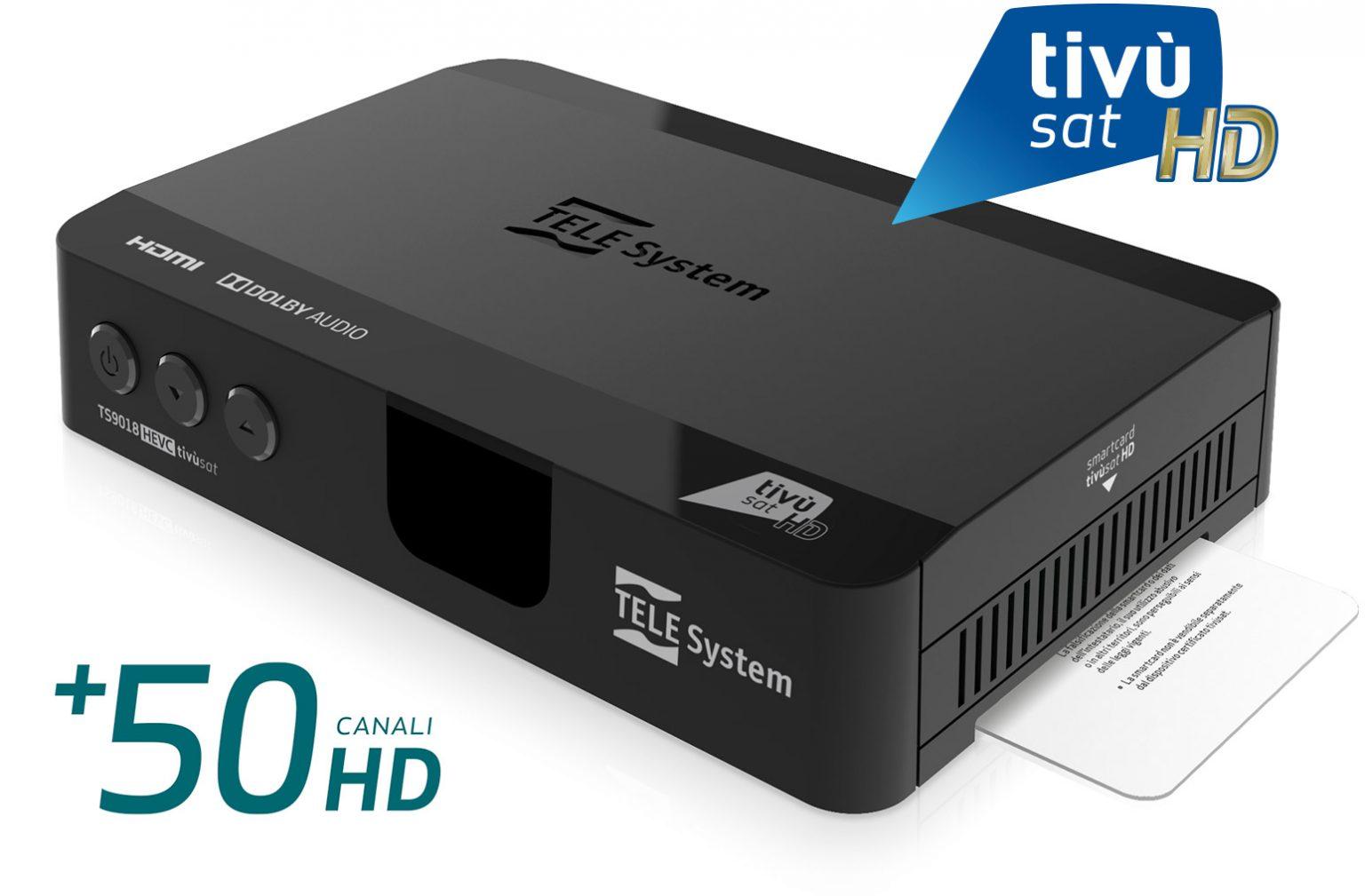 Aggiornamento software per TS9018HEVC tivùsat (versione 271)