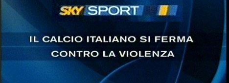 Stop al Calcio: tutte le variazioni SKY Sport di sabato e DOMENICA - UPDATE # 5
