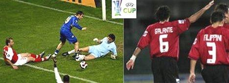 Coppa Uefa: le italiane in diretta su La7, le altre in chiaro via satellite