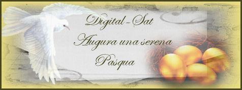 Tanti auguri di Buona Pasqua a tutti i lettori di Digital-Sat.it!!!