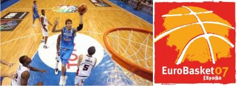 EuroBasket 2007: il programma della prima fase sulla RAI e altre tv in chiaro