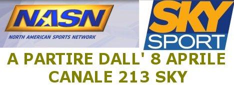 Nasn, la casa degli sport americani, sul canale 213 di SKY Sport (con video)