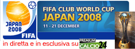Mondiale per club FIFA, comincia l'edizione 2008: chi succeder� al Milan?