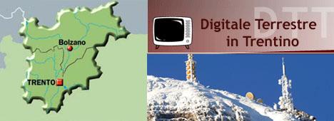 Provincia di Trento, compiuto lo switch-over al DTT: Raidue e Rete4 in digitale