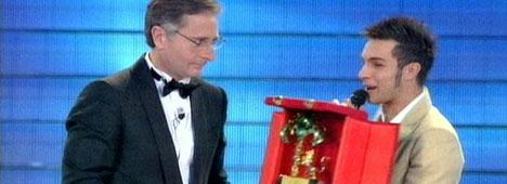 Marco Carta � il vincitore della 59esima edizione del Festival di Sanremo!